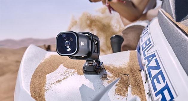 Lg action cam lte trasmette direttamente su youtube for Camera diretta tv