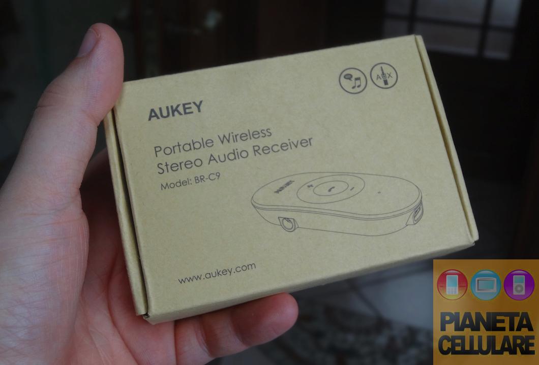 Recensione ricevitore audio portatile Aukey per Auto, auricolari e speaker