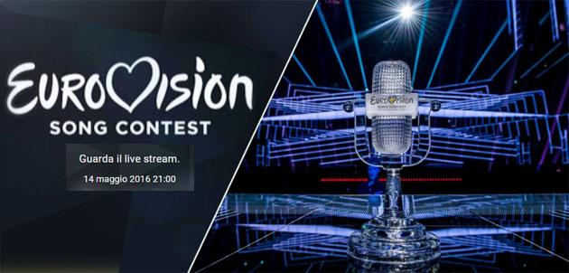 Eurovision 2016, Finale su Youtube in diretta live streaming