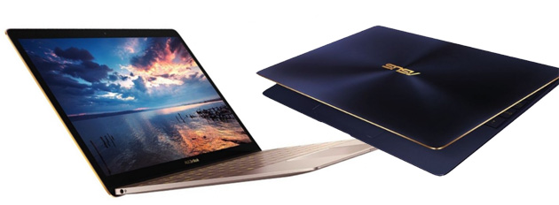 ASUS ZenBook 3 sfida il MacBook con corpo da 11.9mm