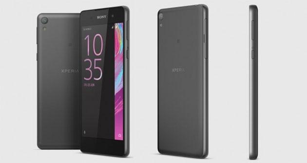 Sony Xperia E5 ufficiale: 5 pollici HD, Android Marshmallow, CPU quad-core a 199 euro