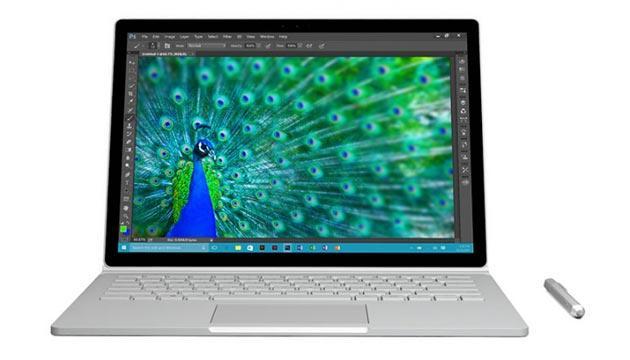 Foto Microsoft Surface Book 2 previsto come computer portatile tradizionale, non ibrido 2-in-1