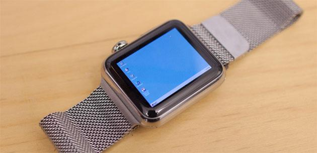 Windows 95 su Apple Watch possibile