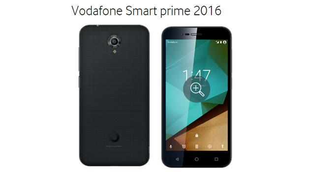 Vodafone Smart Prime 2016: Smartphone 4G Android Marshmallow da 149 euro
