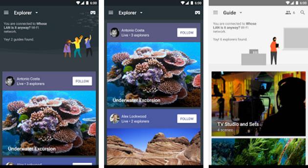 Google Expeditions per viaggiare in VR nel mondo