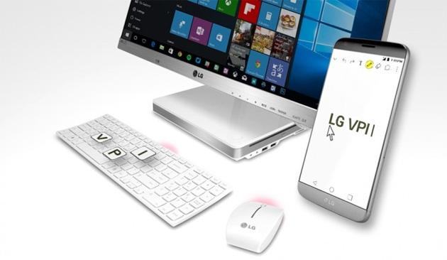 LG VPInput per collegare PC e smartphone LG