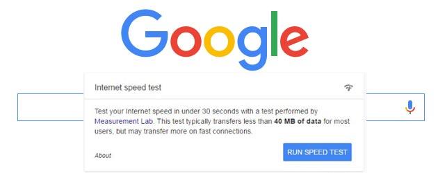 Google vuole inserire un test di velocita' internet nelle Ricerche
