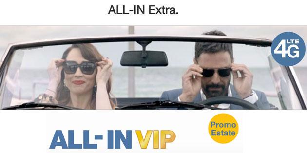 3 Italia ALL-IN Extra Double, Fast, VIP offerte Ricaricabile per l'Estate 2016