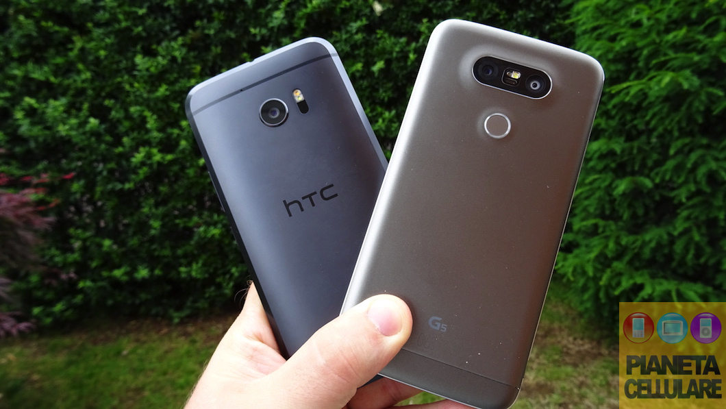 HTC 10 vs LG G5, il nostro confronto video