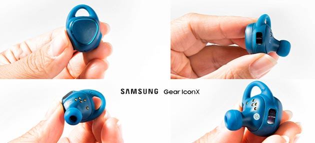 Samsung Gear IconX, auricolari wireless senza fili e fitness tracker in Italia a 229 euro