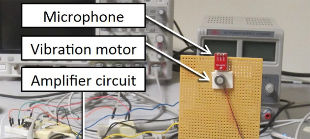 Spiare attraverso motore vibrante del telefono: ecco come