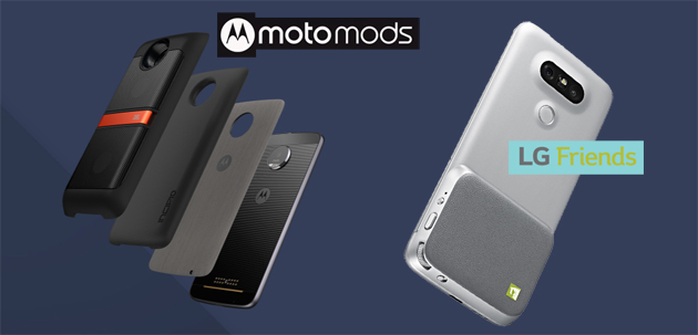 Smartphone Modulari: Moto Mods o LG Friends a confronto
