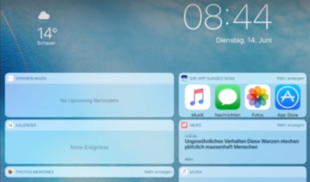 Apple iOS 10 elimina lo Slide To Unlock