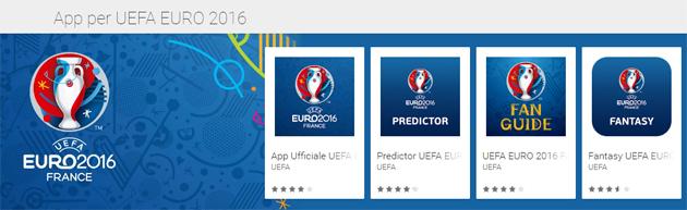 Euro 2016: App per seguire gli Europei, anche in live streaming