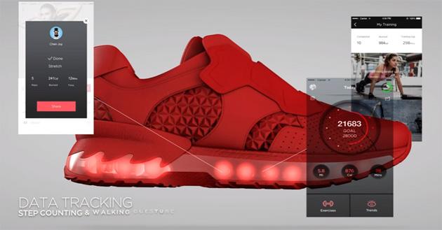 Lenovo Smart Shoes, scarpe intelligenti Intel inside