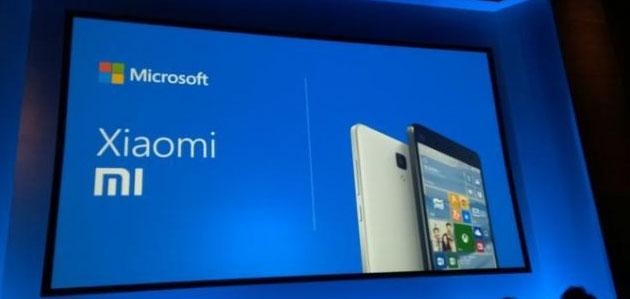 Microsoft e Xiaomi, accordo di licenza per scambio brevetti e preinstallare app