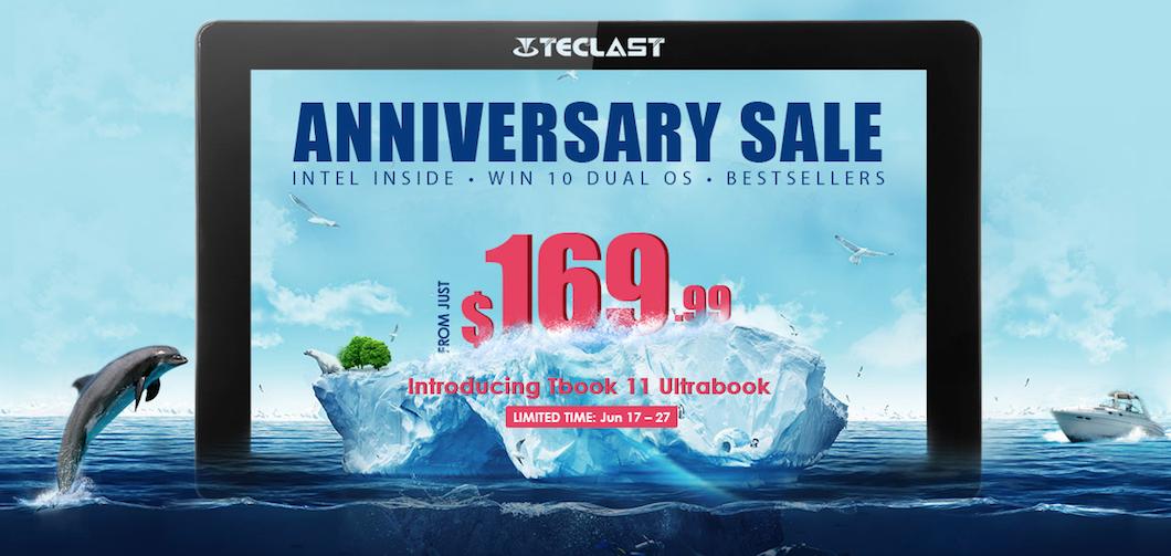 Teclast sconta Tablet, PC, accessori e componenti in occasione del suo anniversario