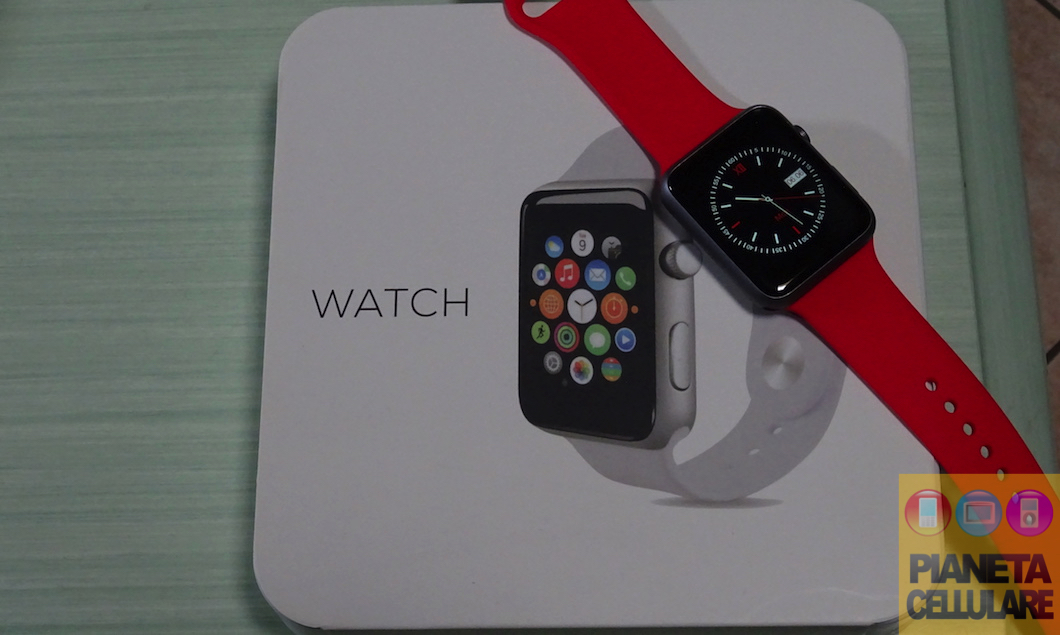 Recensione del miglior clone di Apple Watch per Android ed iOS da 60 euro