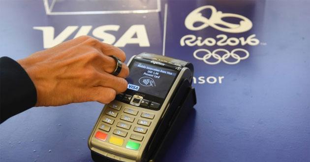 Visa sperimenta Anello per i pagamenti con gli atleti olimpici a Rio
