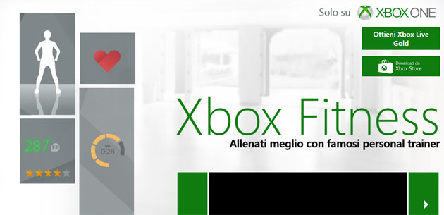 Microsoft chiude Xbox Fitness a Luglio 2017