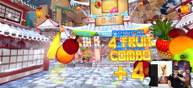 Fruit Ninja VR, la frutta entro fine mese si affetta in Realta' Virtuale