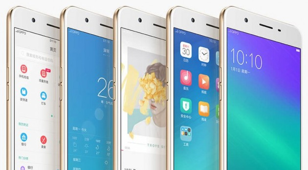 Oppo A57, A59 e A37 smartphone Android di media fascia