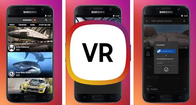 Samsung VR, servizio gratuito per condividere video VR