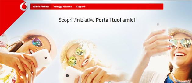 Vodafone Porta Un Amico: Promozioni al 31 Agosto 2016