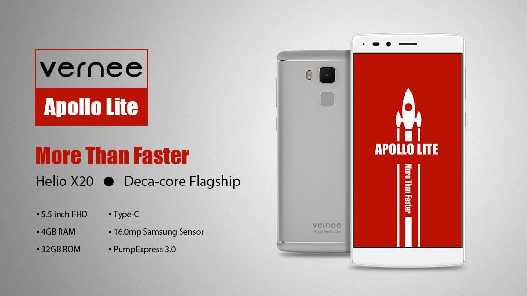 Vernee Apollo Lite, il miglior Smartphone Deca Core del momento
