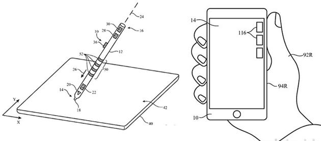 Apple inventa stilo sensibile al tocco e iPhone che distingue la mano