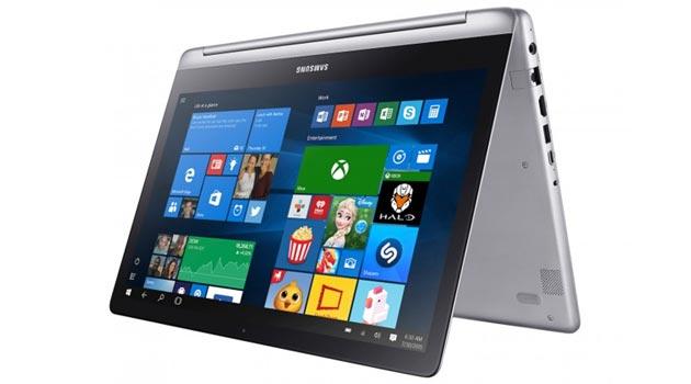 Samsung Notebook 7 Spin, convertibile 2-in-1 con Windows 10