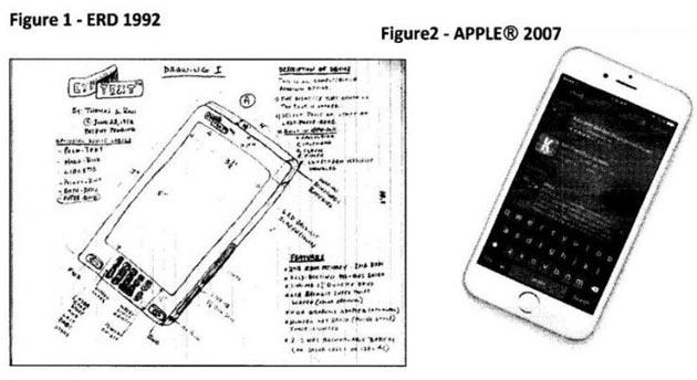 Apple accusata di aver copiato iPhone da brevetto del 1992