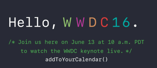 Apple WWDC 2016: iOS 10, watchOS 3, macOS Sierra, Pay on the web