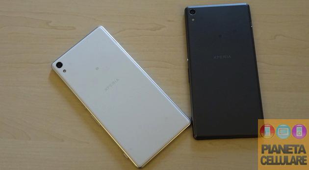 Anteprima Sony Xperia XA Ultra ed Xperia E5