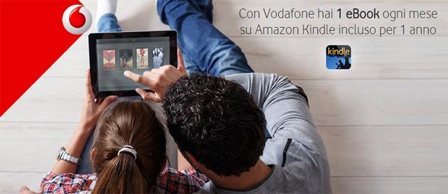 Vodafone, Amazon Kindle gratis per 1 anno