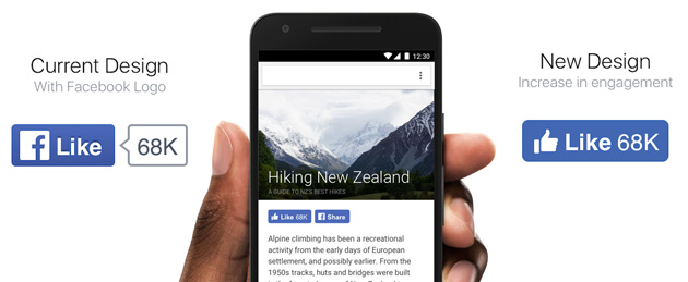 Facebook rinnova pulsante Mi Piace e lancia estensioni per Chrome
