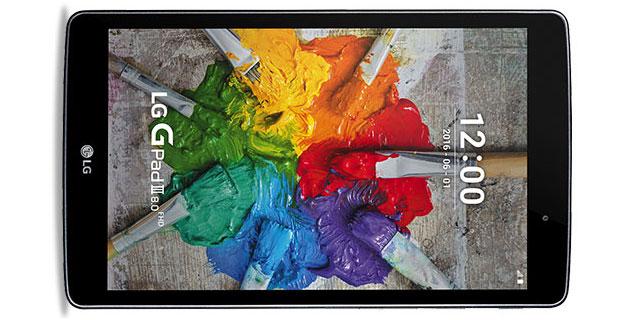 LG G Pad III da 8 e 10.1 pollici con CPU octa-core, display FHD, 2GB di RAM