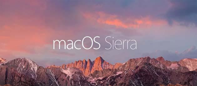 Apple macOS Sierra disponibile, le novita'