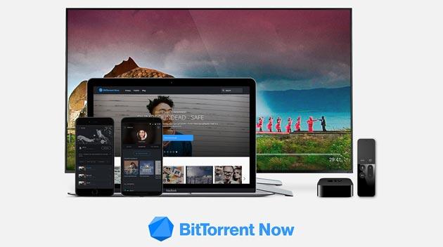 BitTorrent Now, piattaforma di video e musica