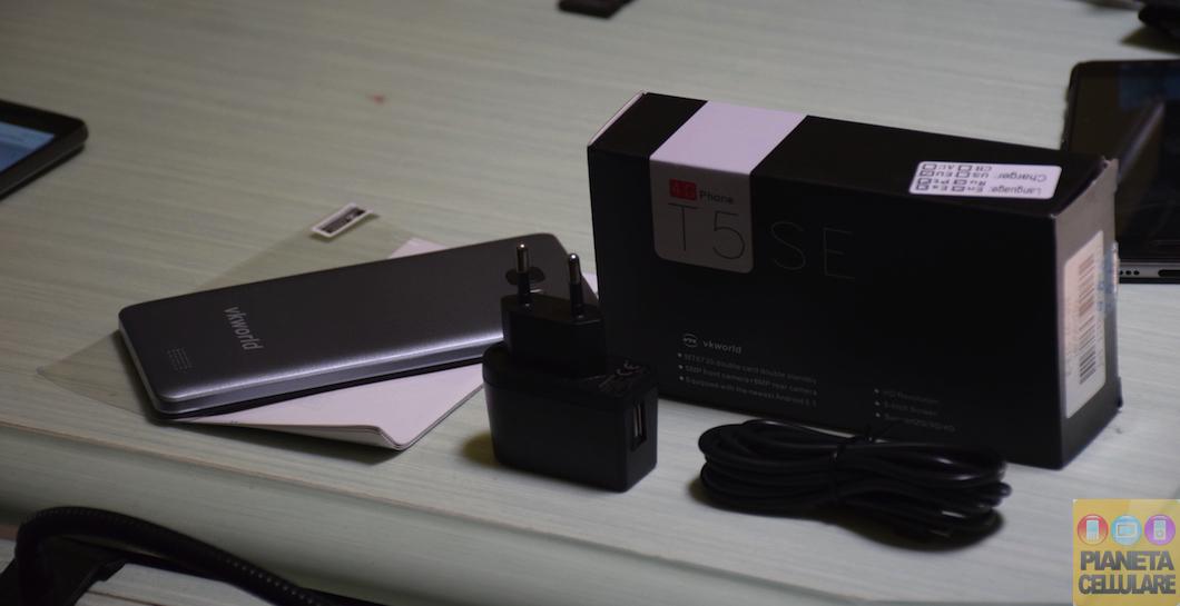 Unboxing VKworld T5 SE, Smartphone Dual Sim LTE da 50 euro
