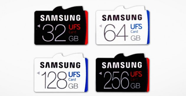 Samsung lancia prima scheda di memoria UFS