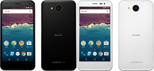 Sharp Aquos 507SH primo telefono Android One giapponese