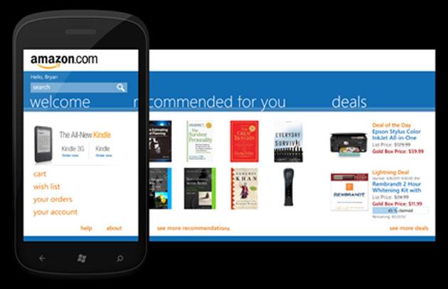 Amazon chiude la sua app per Windows Phone