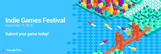 Indie Games Festival, Google annuncia la festa dei giochi indie per Android