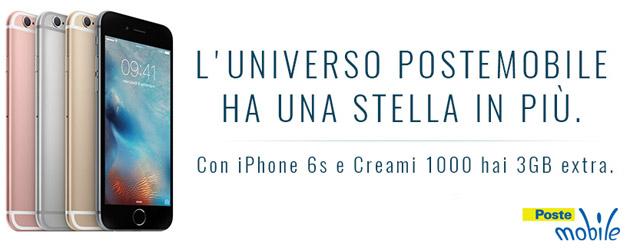 PosteMobile inizia la vendita di prodotti Apple con iPhone 6s