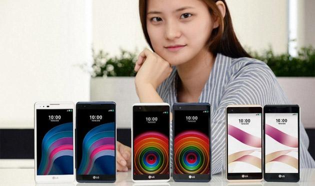 LG X5 e X Skin ufficiali, smartphone Android di media fascia