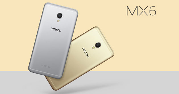 Meizu MX6 con chip Helio X20, 4GB RAM, display 5.5 FHD