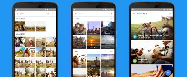 Google Foto 1.24 migliora lo strumento di ritaglio e ordine degli album