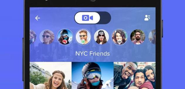 Airtime, app per videochiamate di gruppo