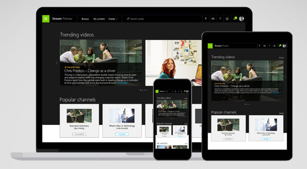 Microsoft Stream, servizio di video streaming per aziende